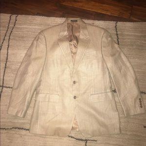 Ralph Lauren tan blazer. 40R